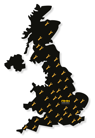 AMN Coverage Map
