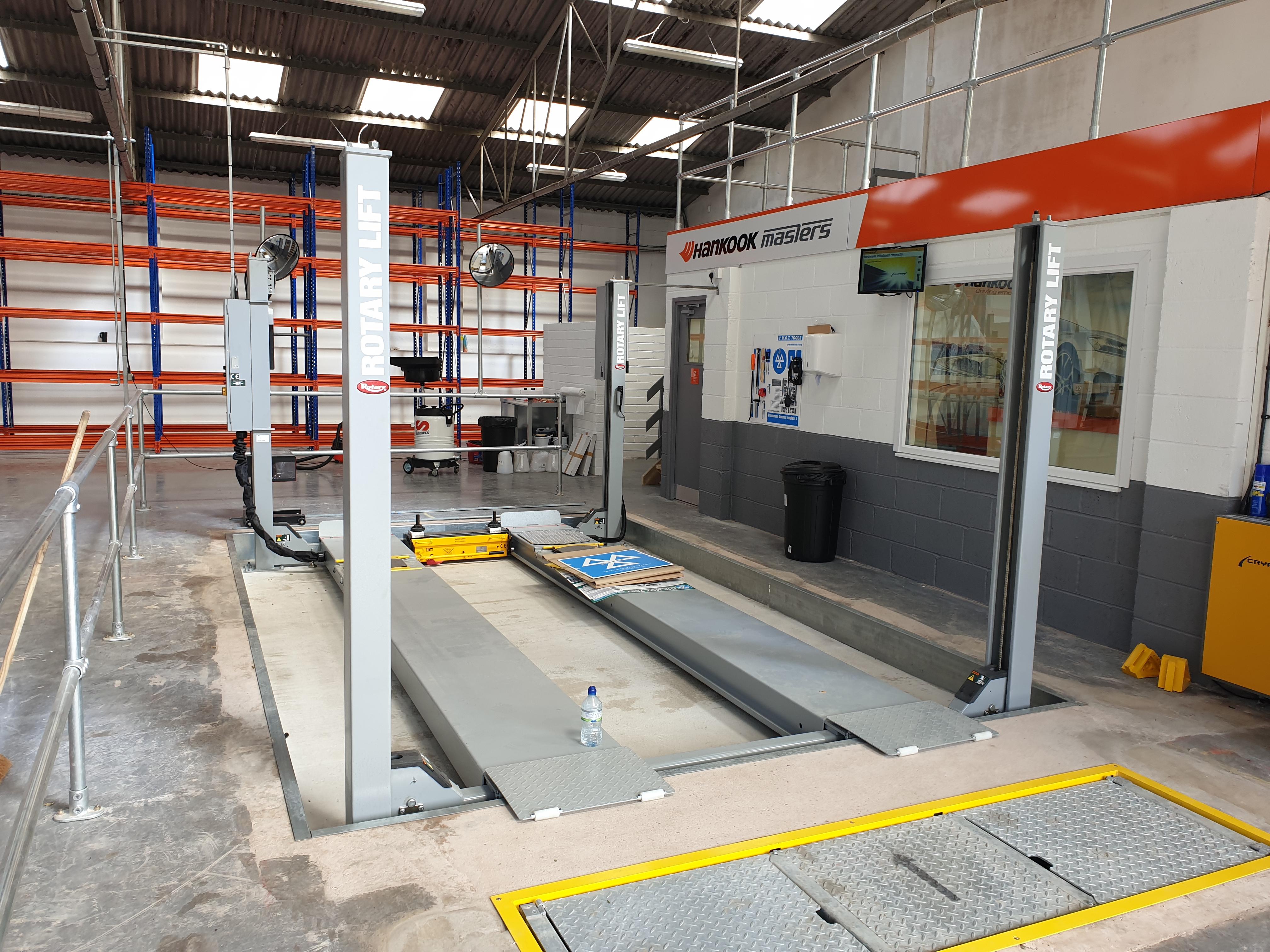 Brand new MoT bad installed by AMN garage assist's installation team at Mr Tyre Warwick