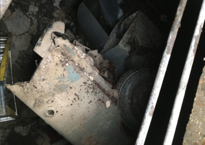Buried car in cellar revealed on site audit