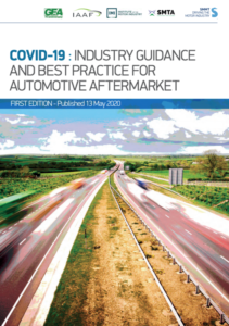 COVID-19 Guide cover for Automotive Aftermarket