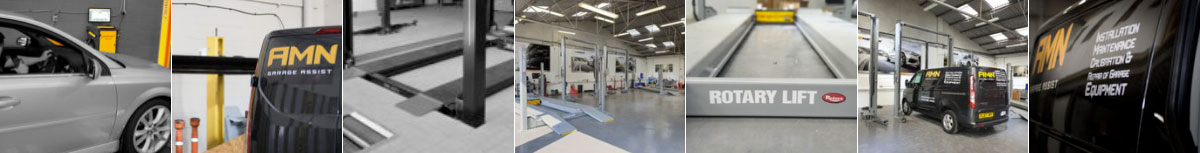 AMN Garage installation engineer montage image
