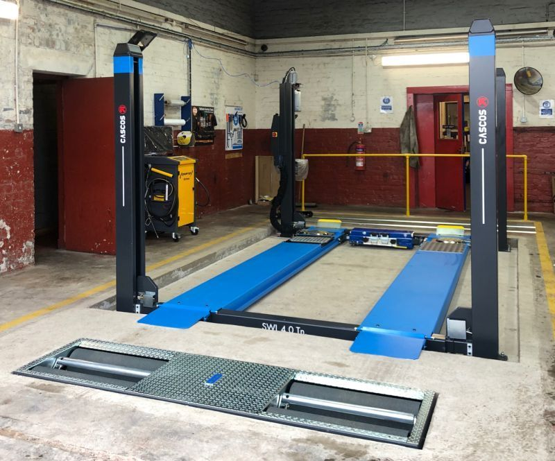 We have completed installs for some incredible equipment brands, including Hofmann Megaplan and Cascos Lifts.