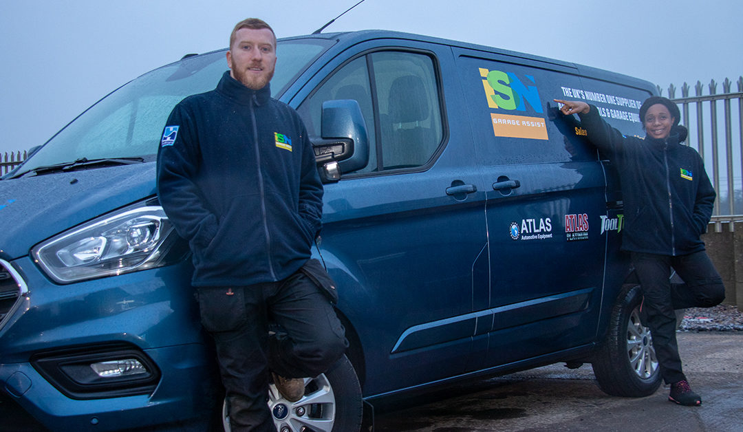 ISN Garage Assist Takes A Bow