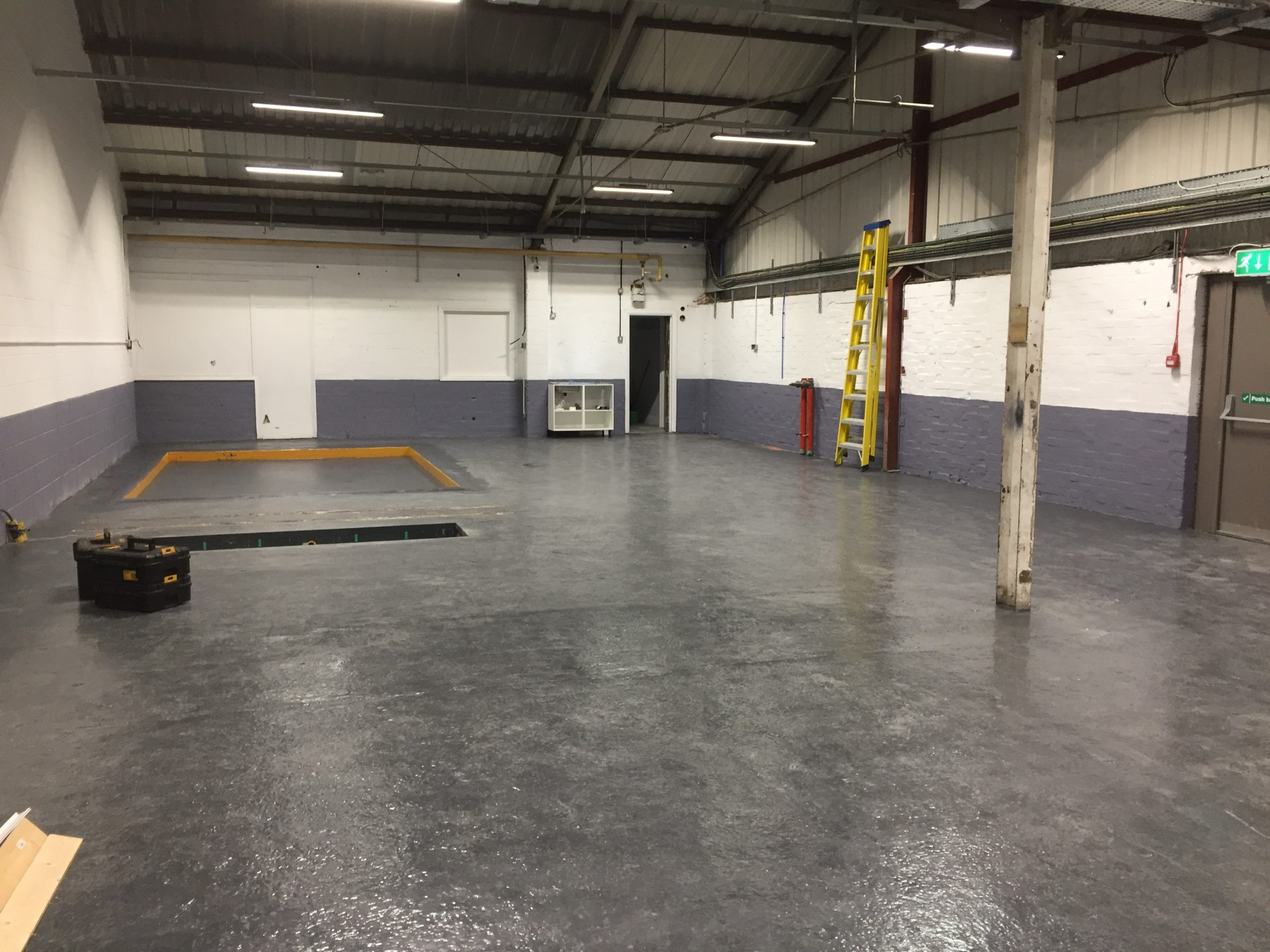 Uncover the amazing installation of a 2 Post Lift, 4 Post Alignment Lift, and full MOT Bay with connected equipment.