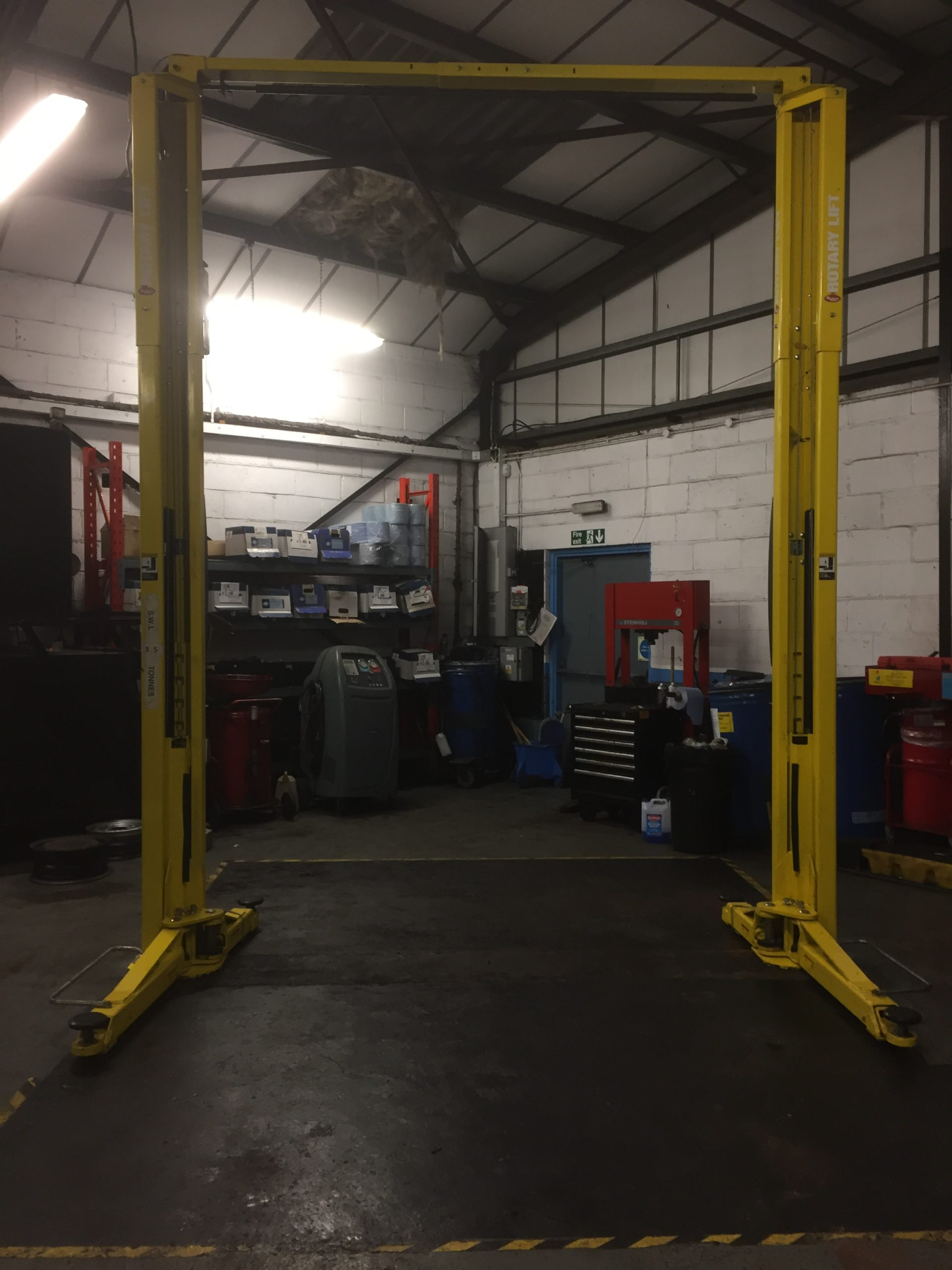 Here at ISN Garage Assist, we don't just install new equipment as we specialise in all types of equipment.