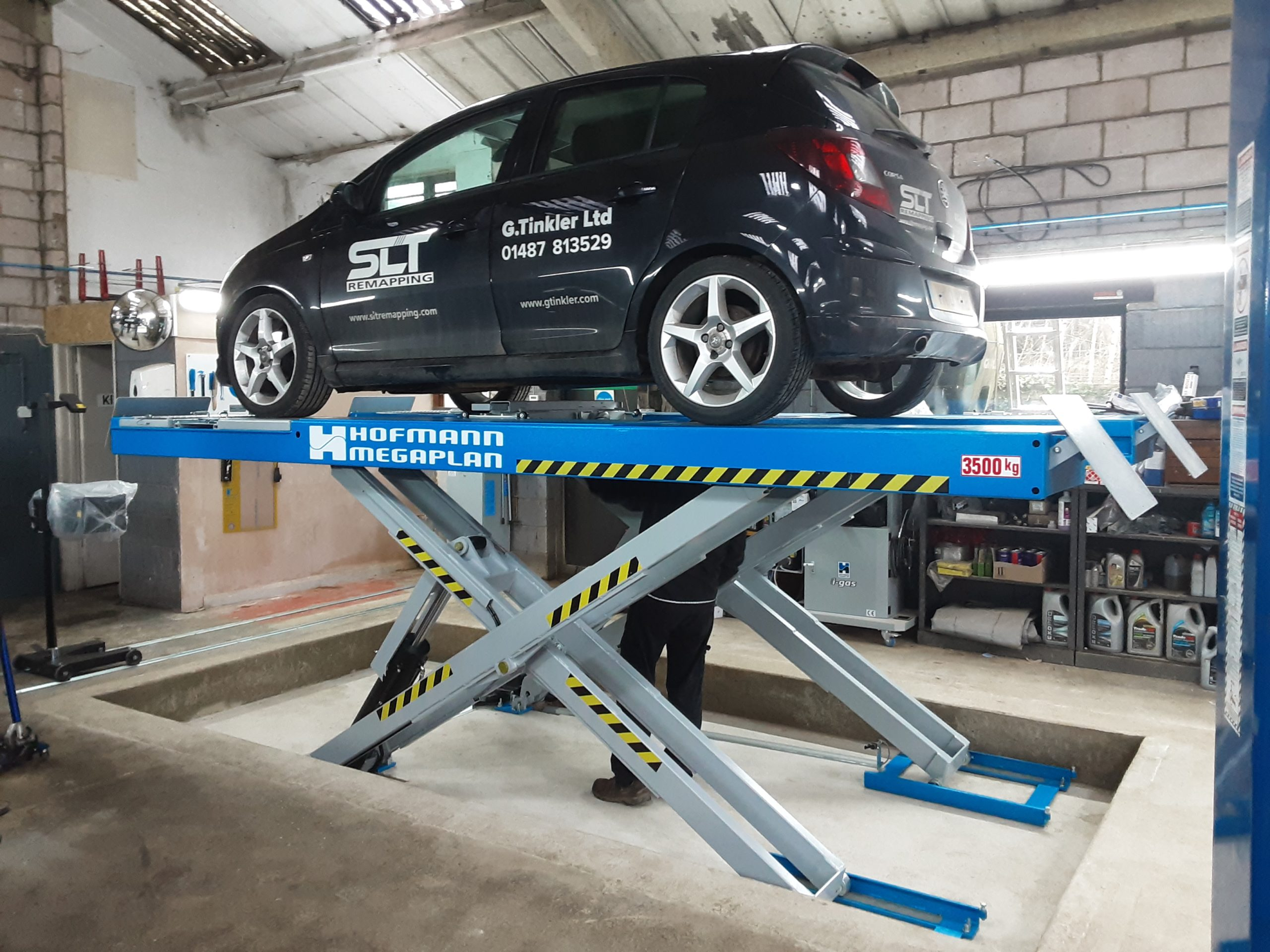 The ISN Garage Assist team were recently on site to install a complete class 4 atl mot bay.