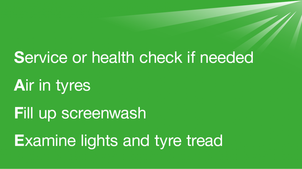 DVSA encouraging vehicle owners to get health checks and services completed during April and May.