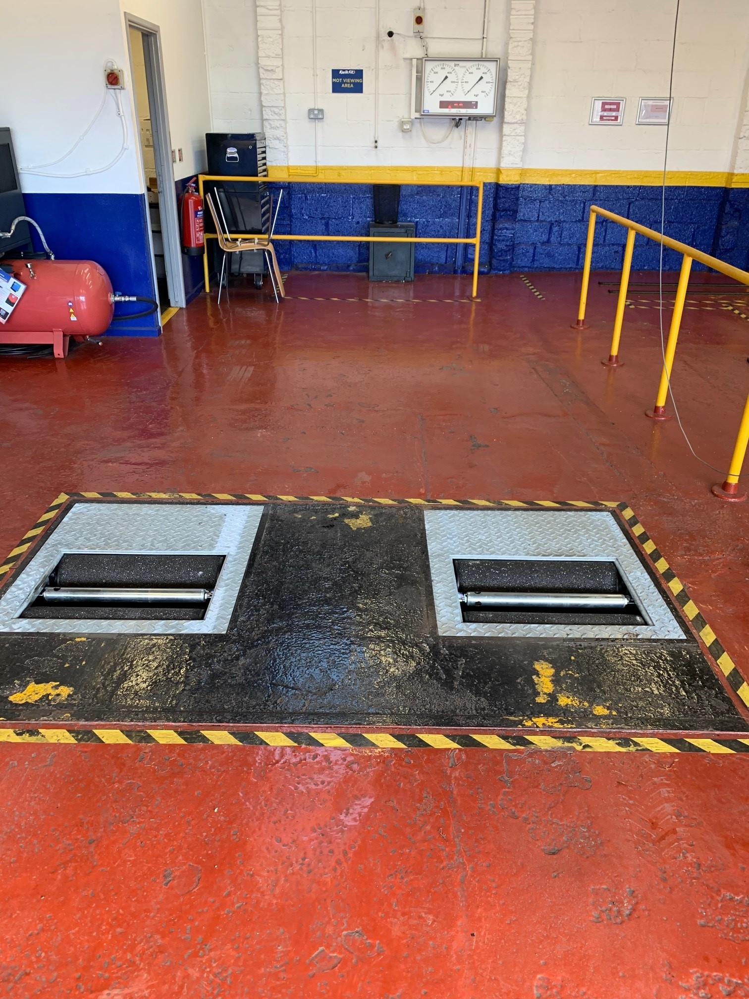 Current DVSA regulations require MOT stations replacing their brake test equipment must introduce Connected Equipment - and that is exactly what Kwik Fit Yate did!