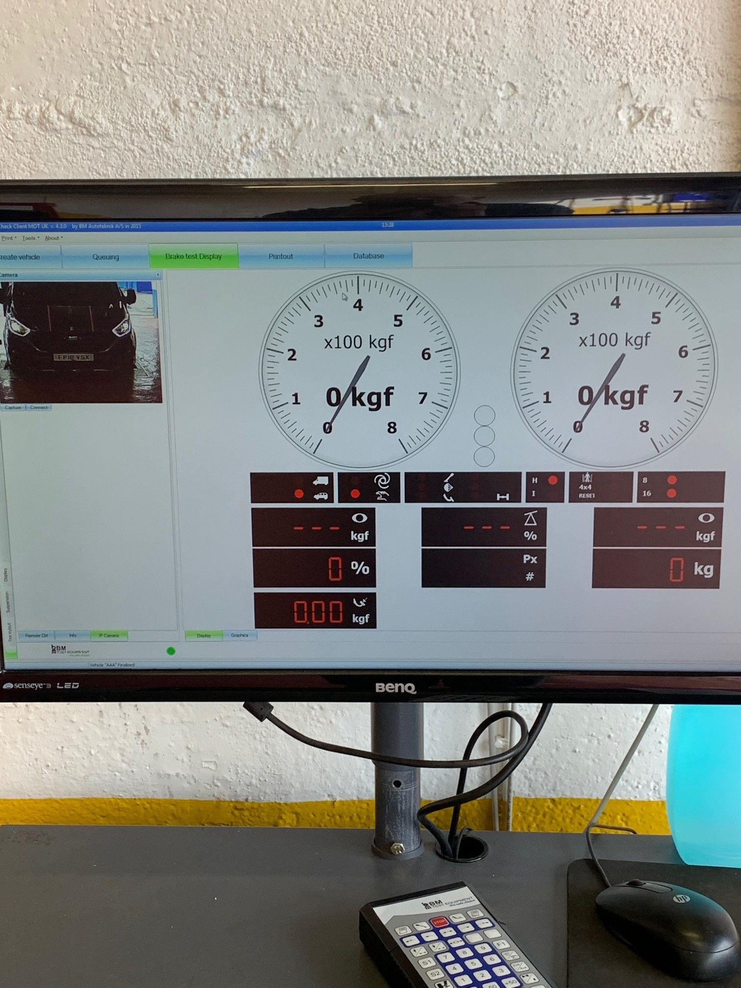 Kwik Fit Yate near Bristol received a brand new connected brake tester from the ISN Garage Assist team.